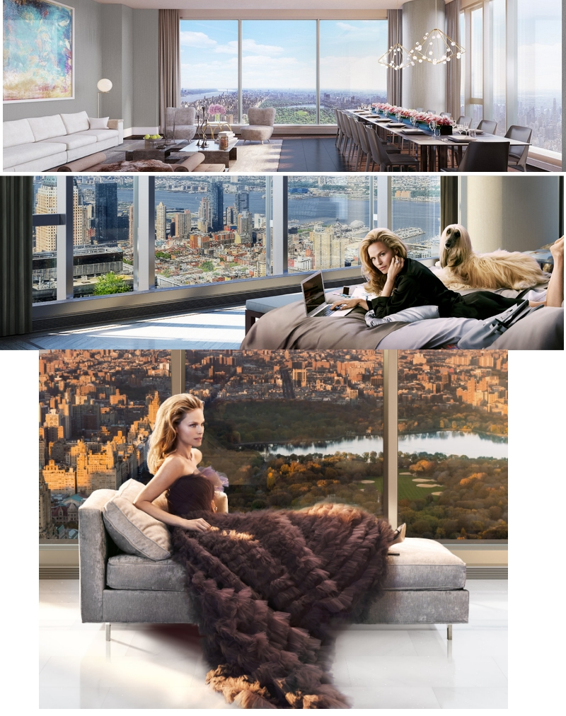 Central Park Tower - the tallest residential building in the world - 2019 -