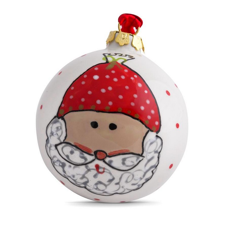 Ceramic Personalised Baby's 1st Christmas Bauble-