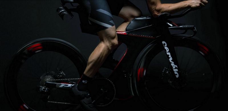 Cervelo P5X triathlon bike