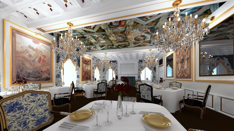 Château du Petit Chêne-restaurant