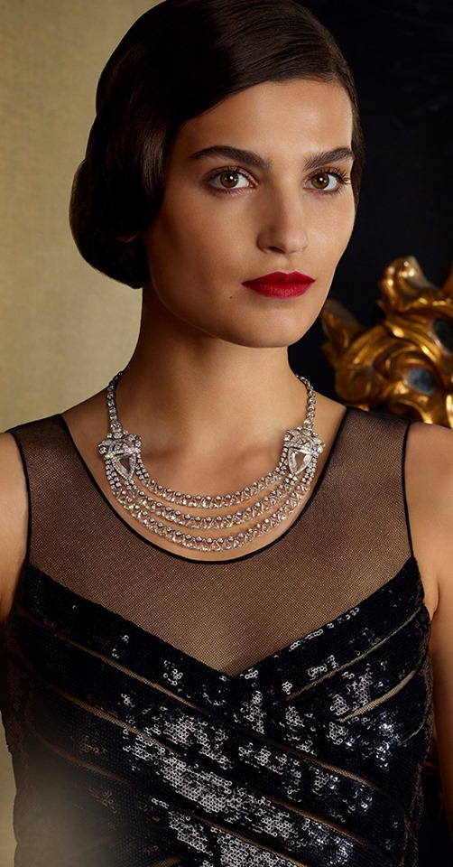 Chanel Aigle Protecteur necklace pays tribute to Coco Chanel's vision of a Russian Paris