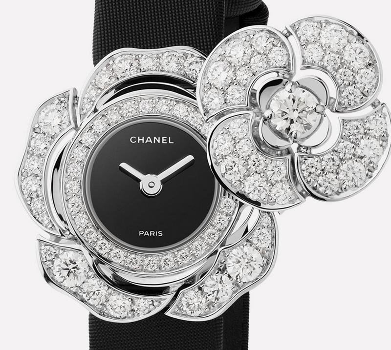 Chanel Bouton de Camélia - an iconic secret watch-