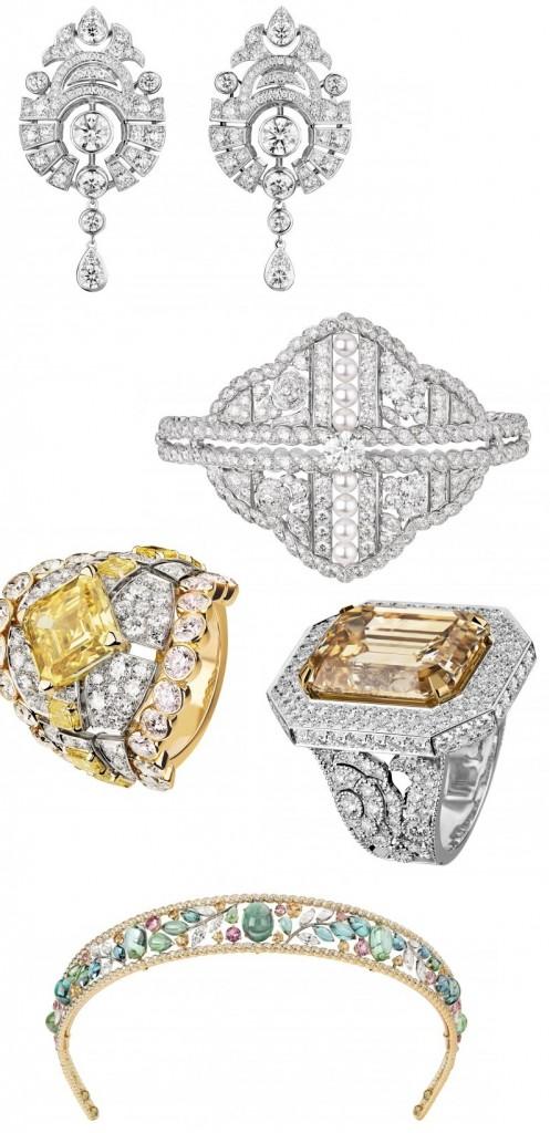 Chanel CHANEL High Jewelry - Le Paris Russe De CHANEL-rings, earrings bracelet tiara
