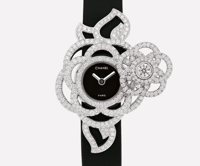 Chanel Camélia secret watches