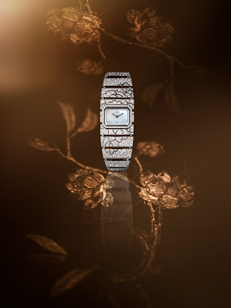 Chanel Coromandel High Jewelry pieces - coromandel-impression-florale timepiece
