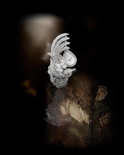 Chanel Coromandel High Jewelry pieces - coromandel-vol-suspendu timepiece