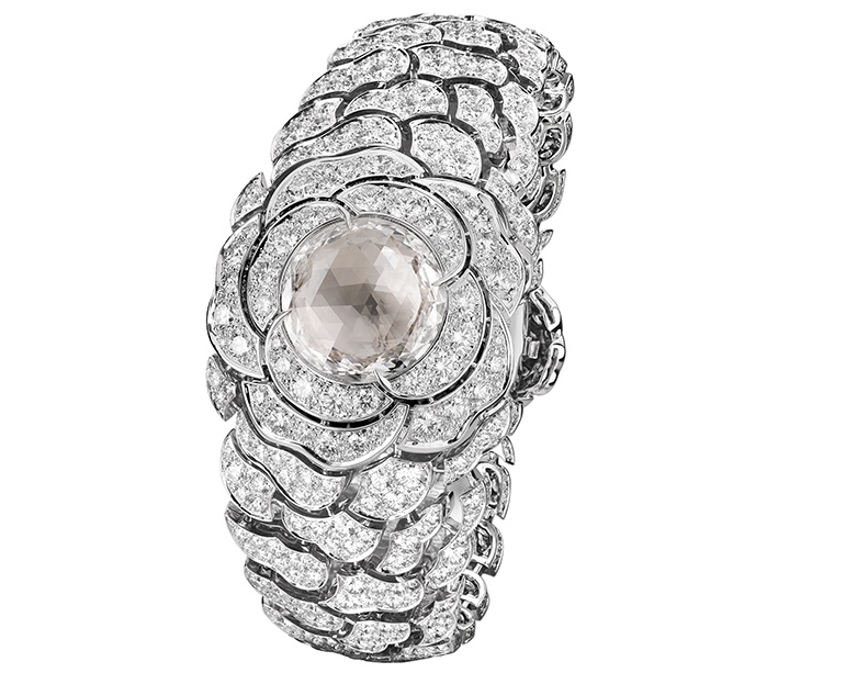 Chanel Eclat de Diamant transformable watch