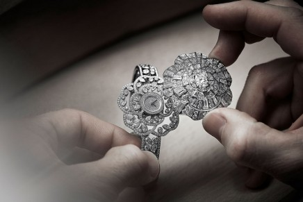 One camellia, five allures: Chanel takes a sole high jewelry camellia and turns it every which way