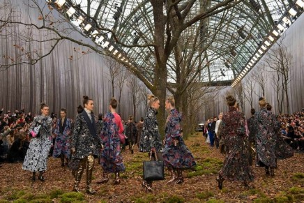 Chanel heads to the woods with roomy tweeds and brogues
