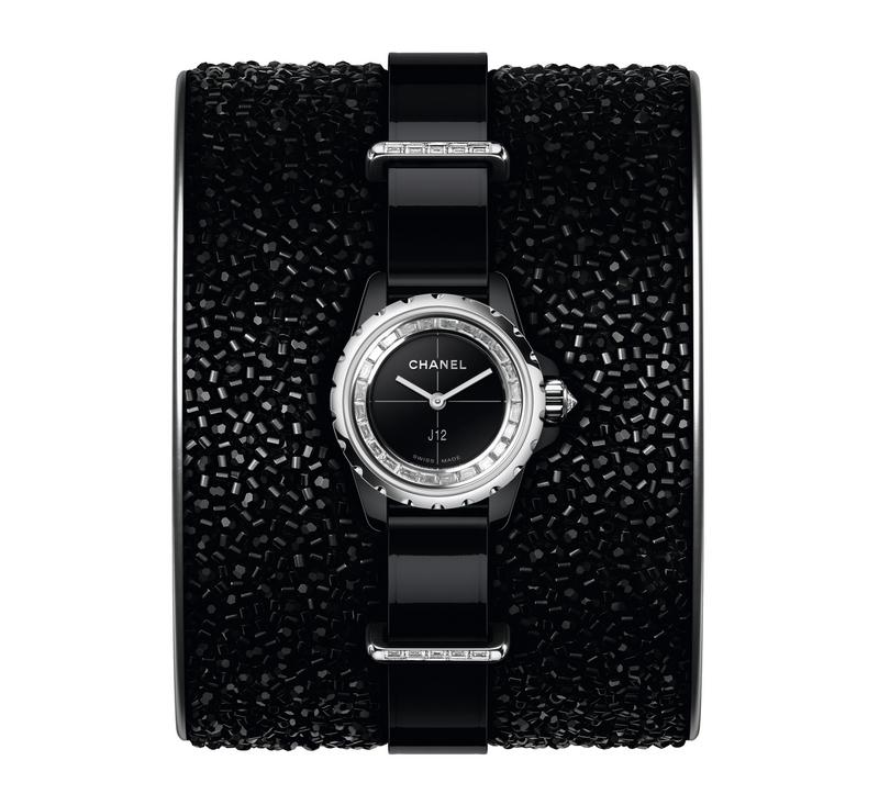 Chanel Horlogerie J12XS a tribute to Lesage unique savoir-faire and Haute Couture-
