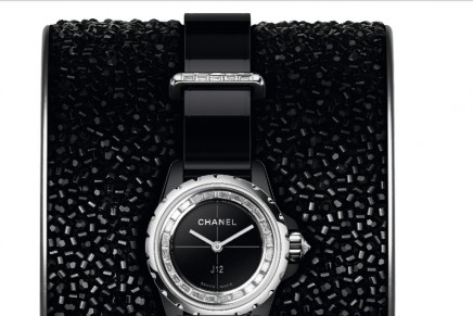 Chanel Horlogerie J12·XS: a tribute to Lesage unique savoir-faire and Haute Couture