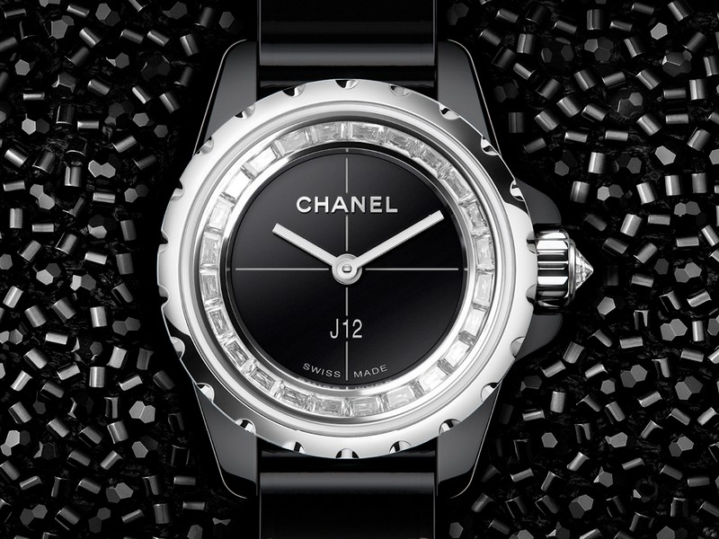 Chanel Horlogerie J12XS a tribute to Lesage unique savoir-faire and Haute Couture