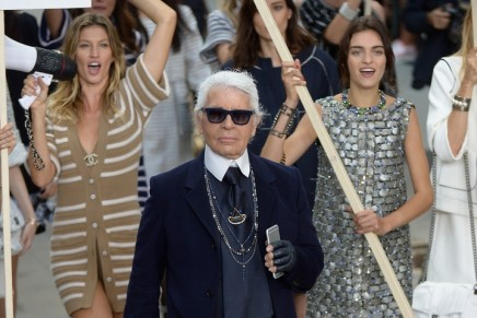 Future-spective: Karl Lagerfeld celebrated as an icon of the zeitgeist