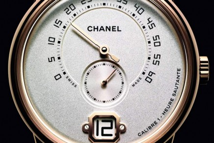 La Montre Monsieur de Chanel with Chanel's first in-house high-watchmaking movement