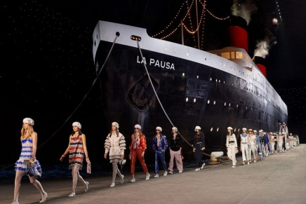 Cruise control: Chanel pushes the boat out with ambitious show