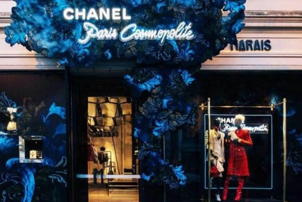 Chanel at Marais Melbourne. The ephemeral boutique