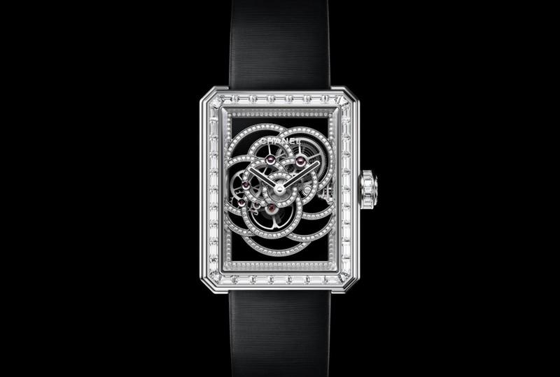 Chanel Première Camélia Skeleton watch - 2017-