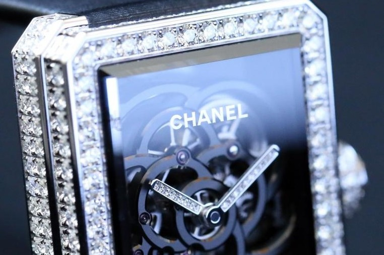 Chanel Première Camélia Skeleton watch - 2017-Baselworld