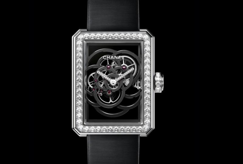 Chanel Première Camélia Skeleton watch - 2017 edition model