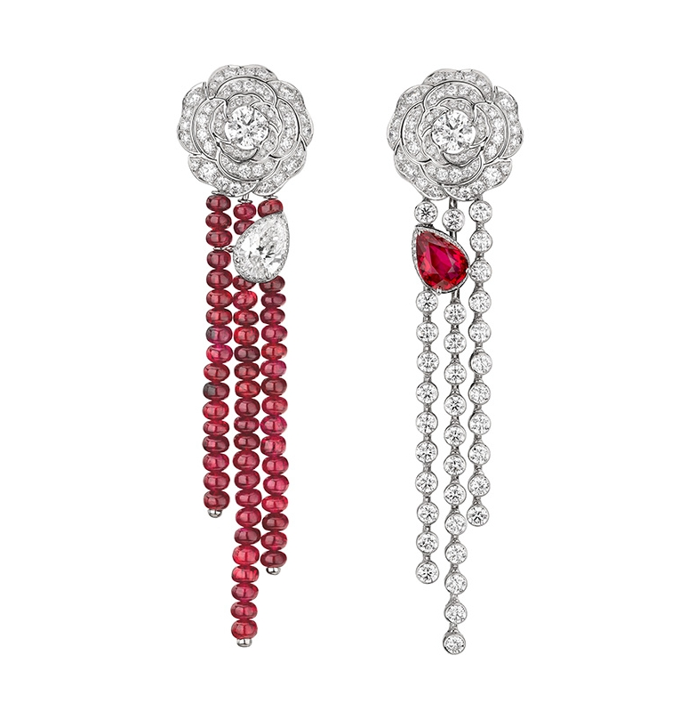 Chanel Rouge Incandescent earrings
