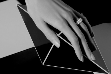 """Black and white are always """"the perfect match."""" Chanel Ultra Fine Jewelry"""