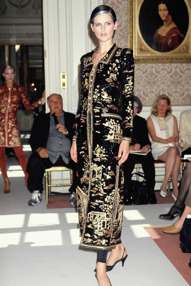 Chanel and Coromandel influences in HauteCouture