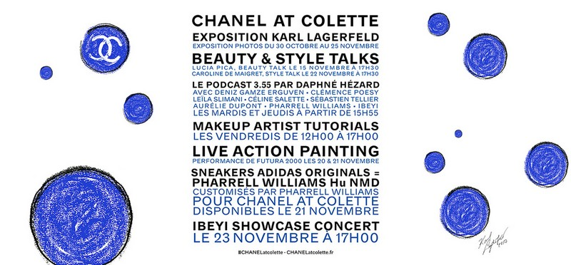 Chanel at Colette-2017 programme