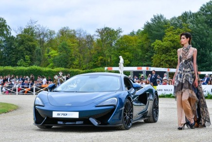 Chantilly Arts & Elegance: McLaren 570GT by MSO revealed in Pacific Blue