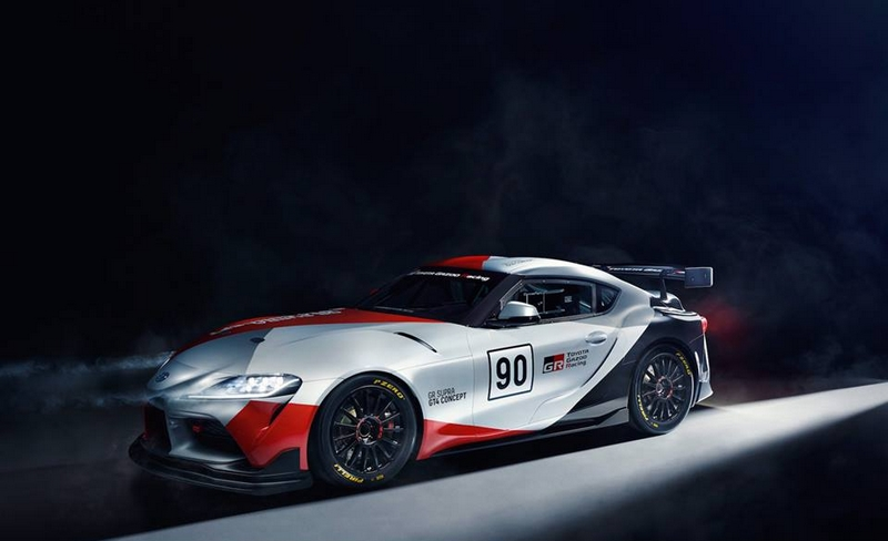 Chantilly Arts & Elegance Richard Mille photos-Toyota GR Supra GT4 Concept