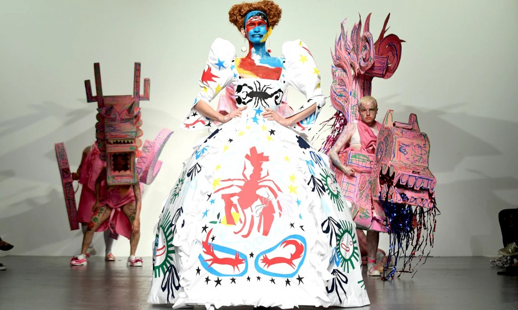 Charles Jeffrey Loverboy show has become a must-see at men's London Fashion Week
