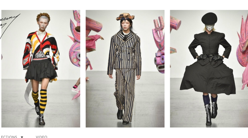 Charles Jeffrey Loverboy show has become a must-see at men's London Fashion Week June 2017-