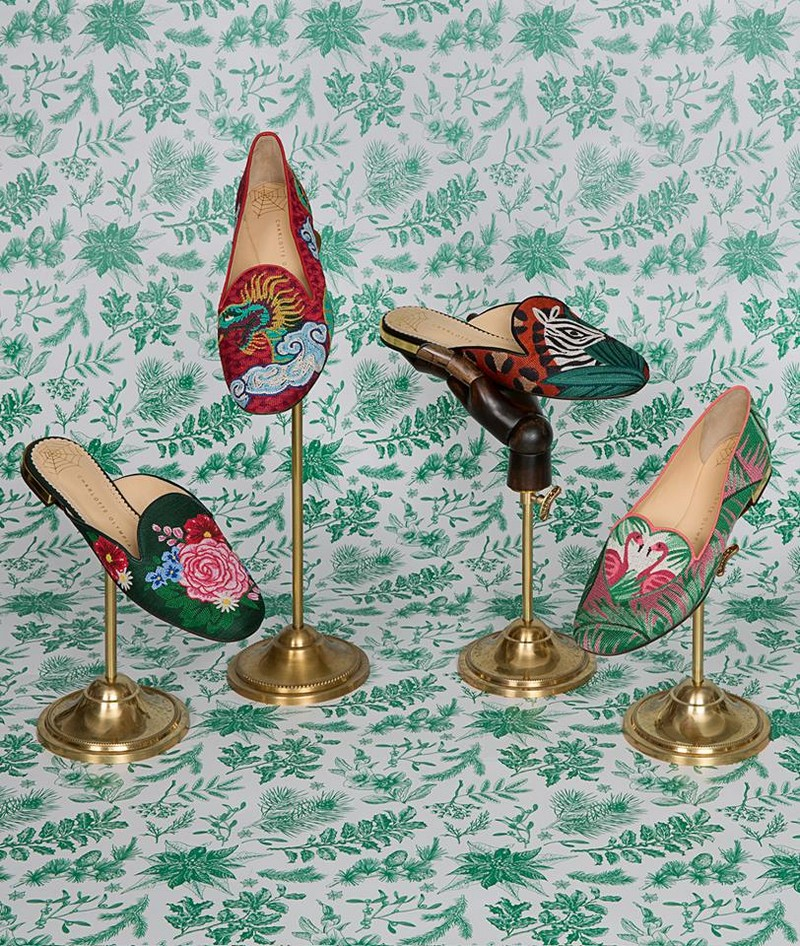 Charlotte Olympia Wish You Were Here collection 2017-2018