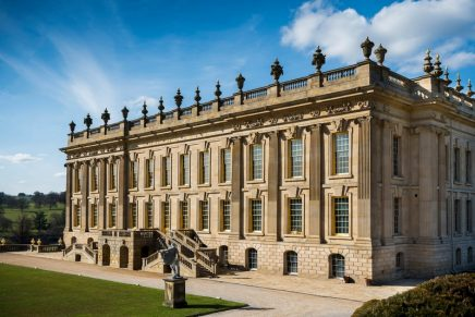 Posh splosh: wild swimming spots at British stately homes