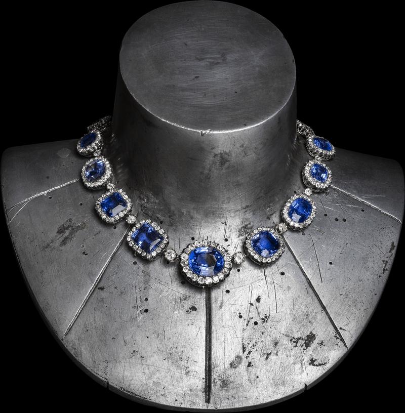Chaumet Imperial Splendours in the Forbidden City - Necklace belonging to the Duchesse de Trévise