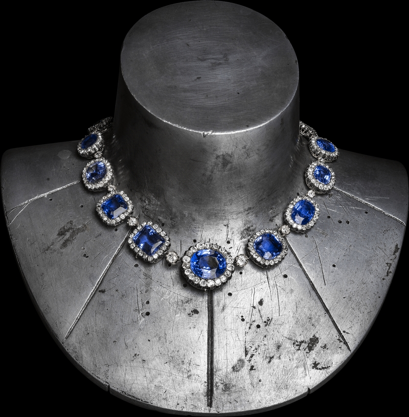 Chaumet Imperial Splendours in the Forbidden City - Necklace belonging to the Duchesse de Trévise