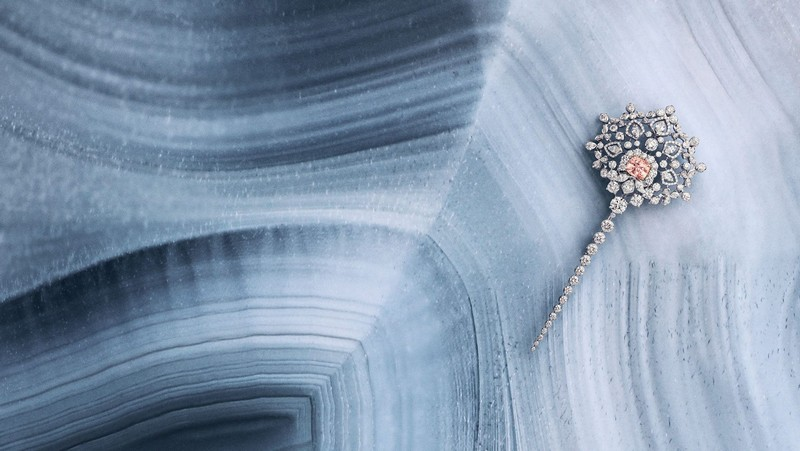 Chaumet Promenades Impériales captures the beauty of the Siberian winter