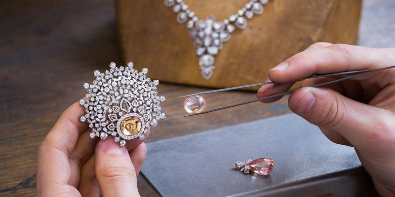 Chaumet Promenades Impériales - transformable necklace, brooches, earrings, rings and a supple bracelet