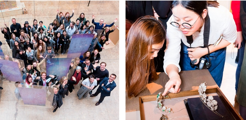 Chaumet and Central Saint Martins, UAL create the diadem of the 21st century-