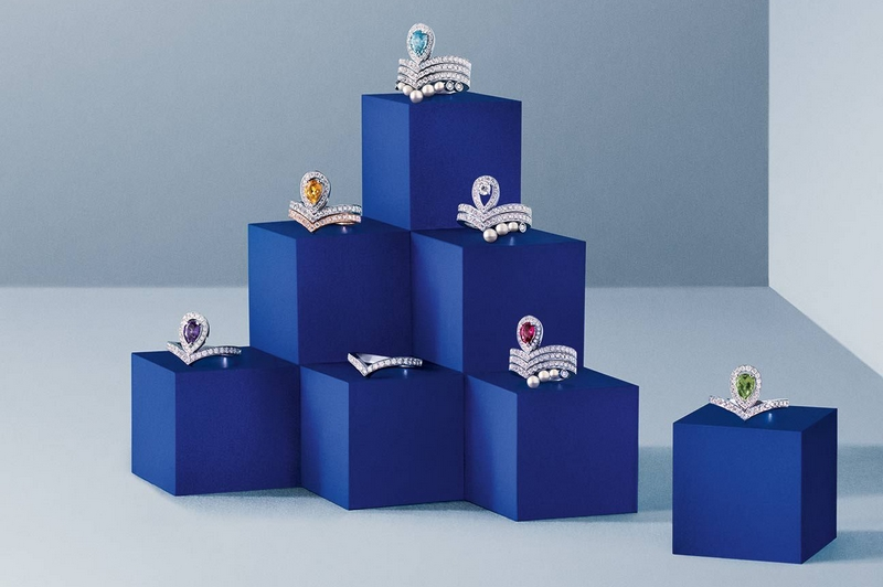 Chaumet new Joséphine Aigrette rings-