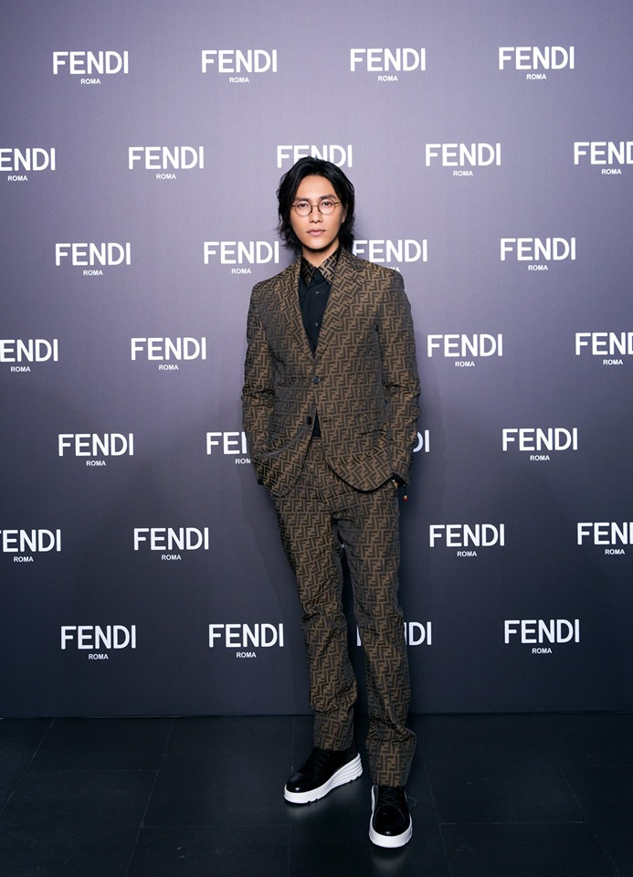Chen Kun at FendiWomen's and Men's Fall-Winter 2019-2020 Collections Show in Shanghai