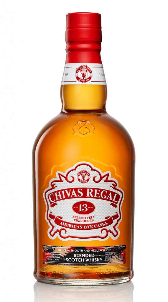Chivas Regal commemorates soccer legend's record 13 Premier League wins with its first 13-year-old blend