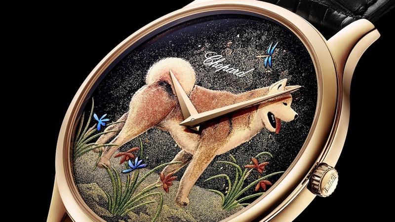 Chopard's L. U. C XP Urushi Year of the Dog watch