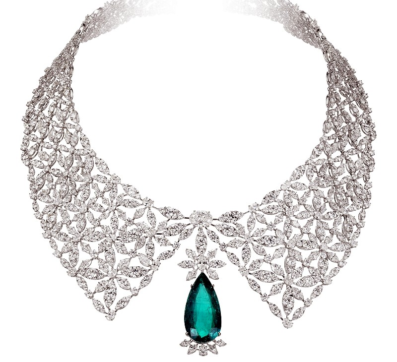 Chopard 2017 - The Silk Road Collection necklace- details