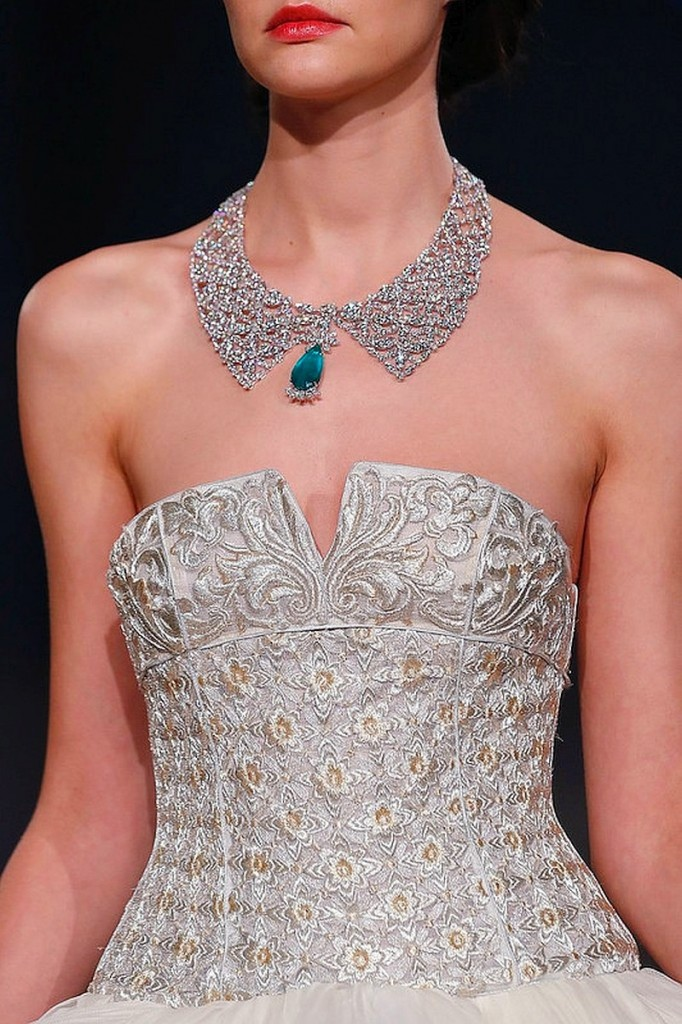 Chopard 2017 - The Silk Road Collection necklace- haute couture haute joaillerie