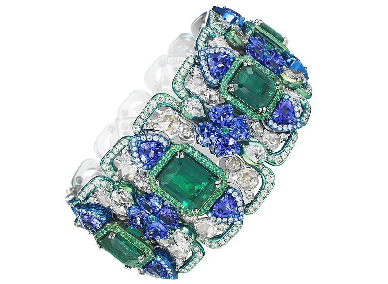 Chopard 2017 - The Silk Road Collection necklace- haute couture haute joaillerie-bracelet