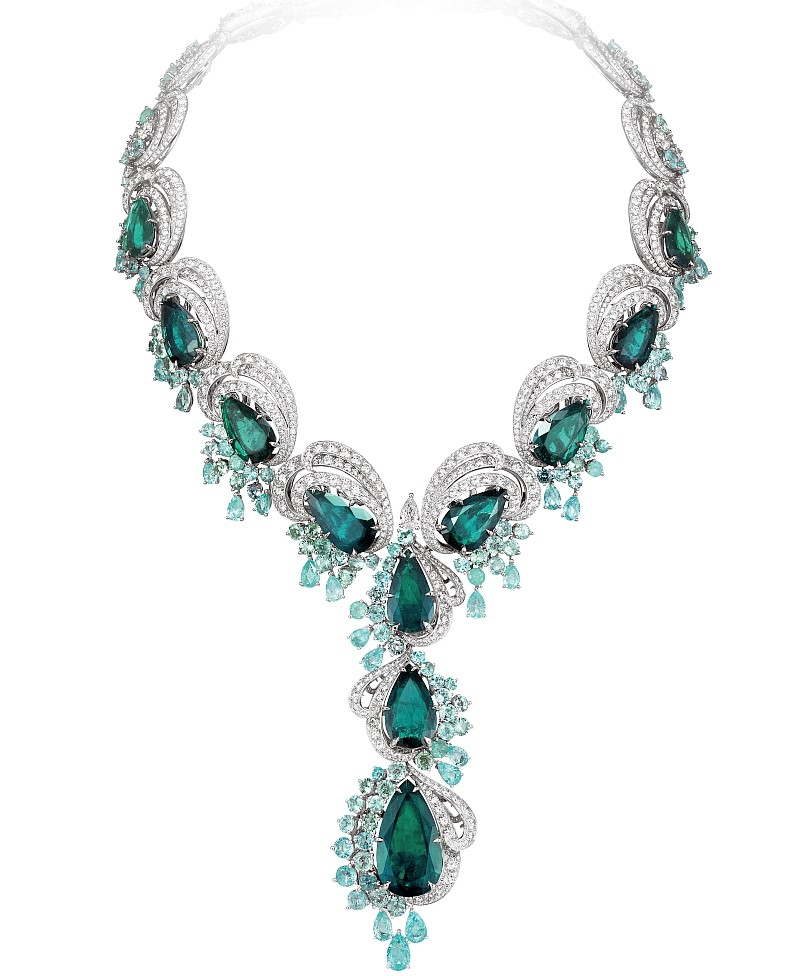 Chopard 2017 - The Silk Road Collection necklace