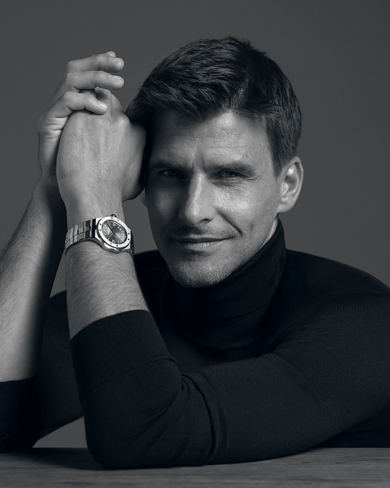 Chopard Alpine Eagle timepiece, made for the modern visionary, a man who commands his present with an eye on the future