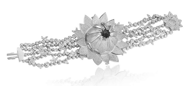 Chopard Lotus Blanc High Jewellery Watch-