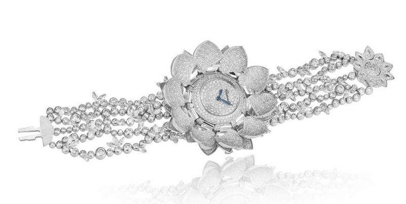 Chopard Lotus Blanc High Jewellery Watch