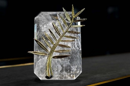 A sneak-peak at the meticulous fabrication of the Palme d'or trophy